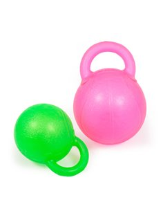 BITE TOY KETTLEBELL CON SQUEAKER