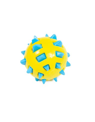 BITE TOY PALLA SPIKY BICOLORE
