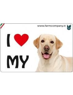 MAGNETI I LOVE MY DOG -...
