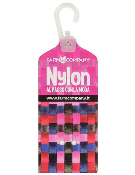 COLLARE IN NYLON CON FIBBIA