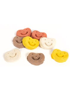 SMILEY MIX DOG BISCUITS